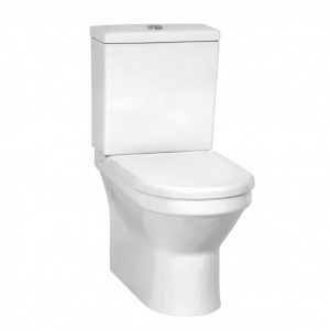 Vitra S50 Pan - Fully Back to Wall - White [5332WH]