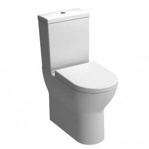Vitra S50 Pan - Fully Back to Wall - White [5349WH]