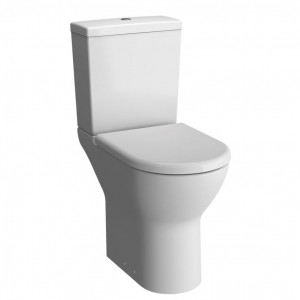 Vitra S50 Pan Raised Height - Open Back  - White [5421WH]