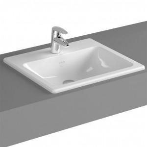 Vitra S20 Sq C/top basin 45cm - White [5463WH1]