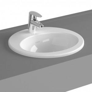 Vitra S20 Round C/top Basin 42.5cm - White [5466WH1]
