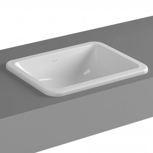 Vitra S20 Countertop Basin 45cm 0TH - White [54730030642]