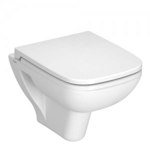 Vitra S20 Short Projection Wall Mounted Pan - White [5505WH]