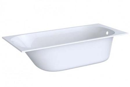 Geberit 554001011 Soana Rectangular Single Ended Bath 1600 x 700mm - White
