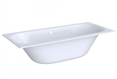 Geberit 554003011 Soana Rectangular Double Ended Bath 1700 x 750mm - White