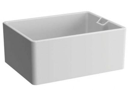 Vitra Comm Basin 59.5cm. 0TH - White [5772WH]
