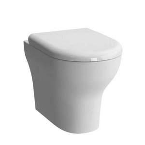Vitra Zentrum Back to Wall Pan - White [5788WH]