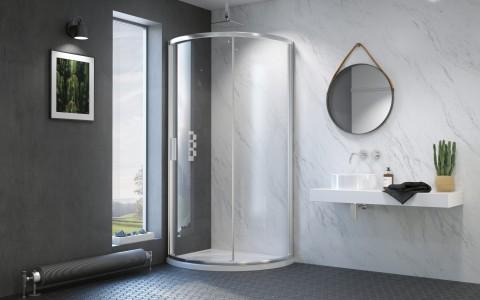 Kudos 50mm Shower Waste - White  [DWA50LN]