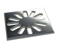 Wedi Fino 1.1 Drain Grate Stainless Steel - Square  [676800033]