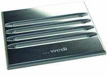 Wedi Fino 2.1 Drain Grate Stainless Steel grid - Square  [676800037]
