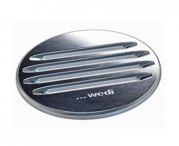 Wedi Fino 2.2 Drain Grate Stainless steel grid - Circular  [676800038]