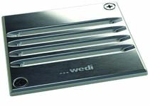 Wedi Fino 2.3 Drain Grate Stainless steel screw in grid with incl frame - Square  [676800039]
