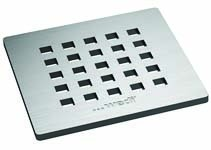 Wedi Fino 5.1 Drain Grate Stainless Steel grid - Square  [676800046]