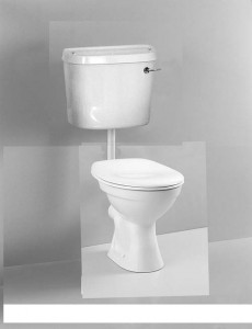 Vitra Comm Low level WC pan - White [6858WH]