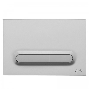 Vitra Loop T Electronic Flush Plate - Chrome Plated  [7400880]