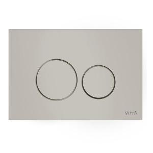 Vitra Flush Plates - Vetro - Glass Control Panel Taupe [7401602]