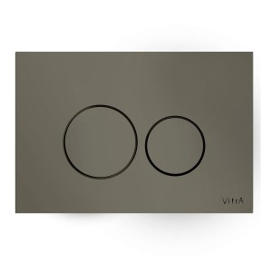 Vitra Flush Plates - Vetro - Glass Control Panel Mink [7401603]