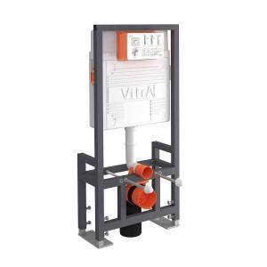 Vitra 12cm WC Frame 112cm F/mount - 2.5/4ltr  [742480002]