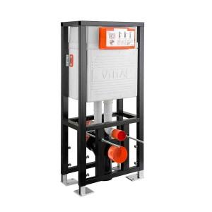Vitra 12cm WC Frame 112cm Twin Cistern - 2.5/4  [742585002]