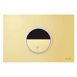 Vitra Pro Electronic Flush Plate -  Gold [7481420]