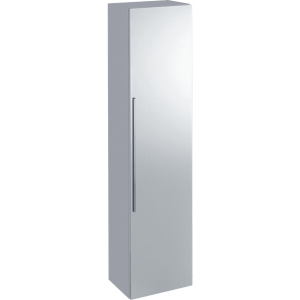 Geberit 840150000 iCon Tall Cabinet with Mirror Door - White