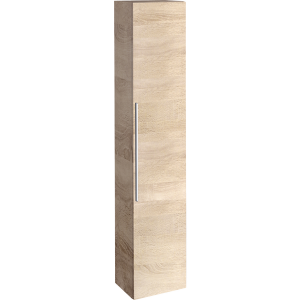 Geberit 841002000 iCon Tall Cabinet with One Door - Natural Oak