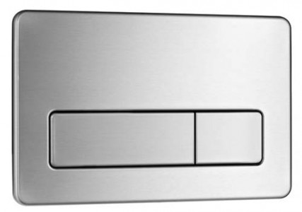 Laufen Flush Plate AW2 Stainless Steel - Anti-vandal  [8956620000001]