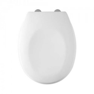 Tavistock Verve - WC Seat with white hinges - Gloss White [9001WS]