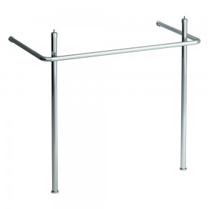 Laufen Pro Square 85cm wide - For use with Pro A 13956 basin - Chrome [909560040001]