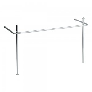Laufen Pro Square 105cm wide - For use with Pro A 13958 basin - Chrome [909580040001]