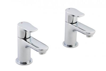 Pegler Andreu Elion Bath Pillar Tap - waste not included - Chrome [922008]