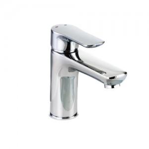 Pegler Andreu Monobloc Basin Mixer with sprung plug waste - Chrome [922009]