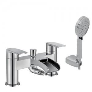 Pegler Cascada Bath Shower Mixer with hose & handset [922029]