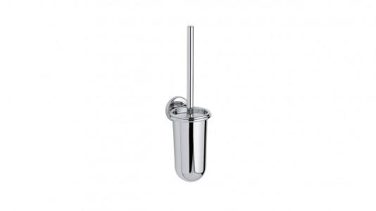 Inda Colorella Toilet Brush and Holder 11 x 40h x 12cm - Chrome  [A04140CR]
