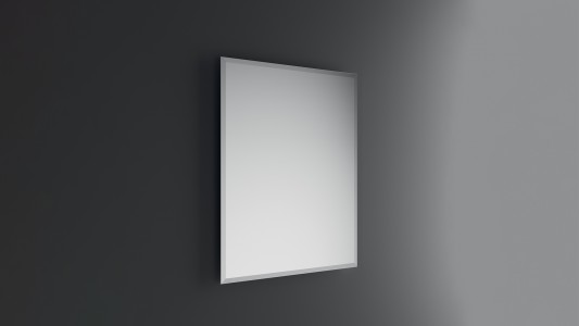 Inda Fast Block Mirror Rectangular Matt Edge 39 x 51h cm   [A0772A]