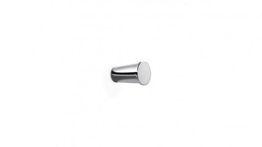 Inda Ego Robe Hook 4 x 3cm dia - Chrome  [A1320ACR]