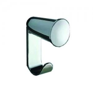 Inda Ego Double Robe Hook 3 x 7h x 4cm - Chrome  [A1320CCR]