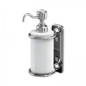 Burlington Liquid Soap Dispenser Single soap dispenser - Chrome  [A19CHR]