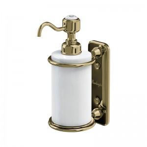 Burlington Accessories - Single Soap Dispenser - Gold  [A19GOLD]