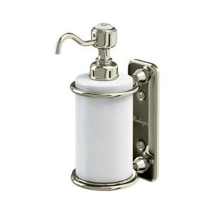 Burlington Liquid Soap Dispenser Single soap dispenser - Nickel  [A19NKL]