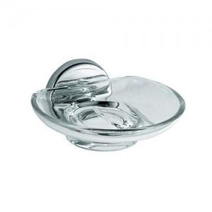 Inda Colorella Soap Dish 14 x 7h x 14cm - Chrome  [A23110CR03]