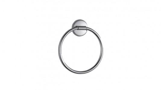 Inda Colorella Towel Ring 19 x 21h x 3cm - Chrome  [A2316TCR]