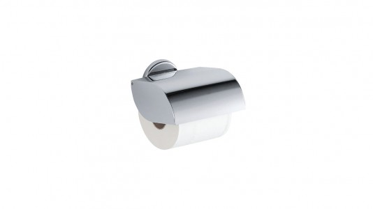 Inda Colorella Toilet Roll Holder 13 x 12h x 10cm - Chrome  [A23270CR]