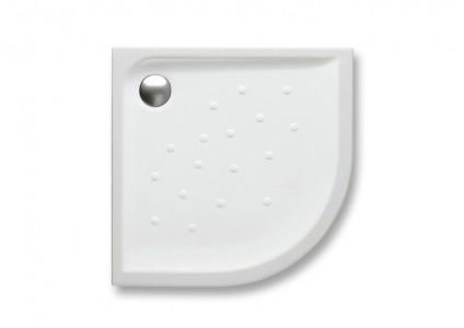 ROCA Malta Corner Quadrant Shower Tray - 90 x 90 x 4.5cm - A373507000