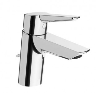 Vitra Solid S Basin Mixer with pop-up waste - Chrome [42441]
