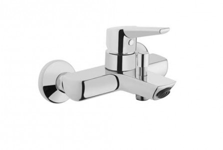 Vitra Solid S BSM with hose and handset - Chrome [42444]