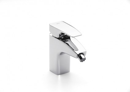 ROCA Thesis Bidet Mixer with Retractable Chain A5A6150C00