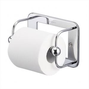 Burlington Toilet Roll Holder Toilet roll holder 17.6 x 12.2h x 8cm - Chrome  [A5CHR]