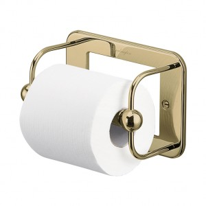 Burlington Accessories - WC Roll Holder - Gold  [A5GOLD]