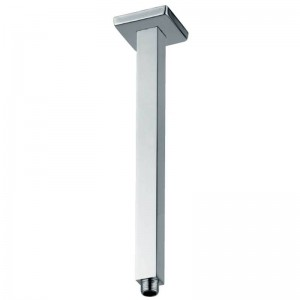 Abode Square Ceiling Mounted Shower Arm - Chrome - [AB2417]